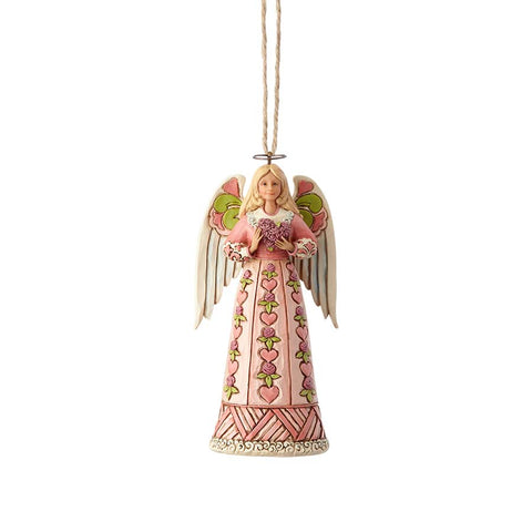 Angel w/Heart Ornament