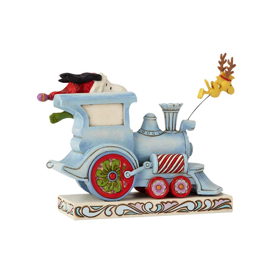 Snoopy Christmas Train