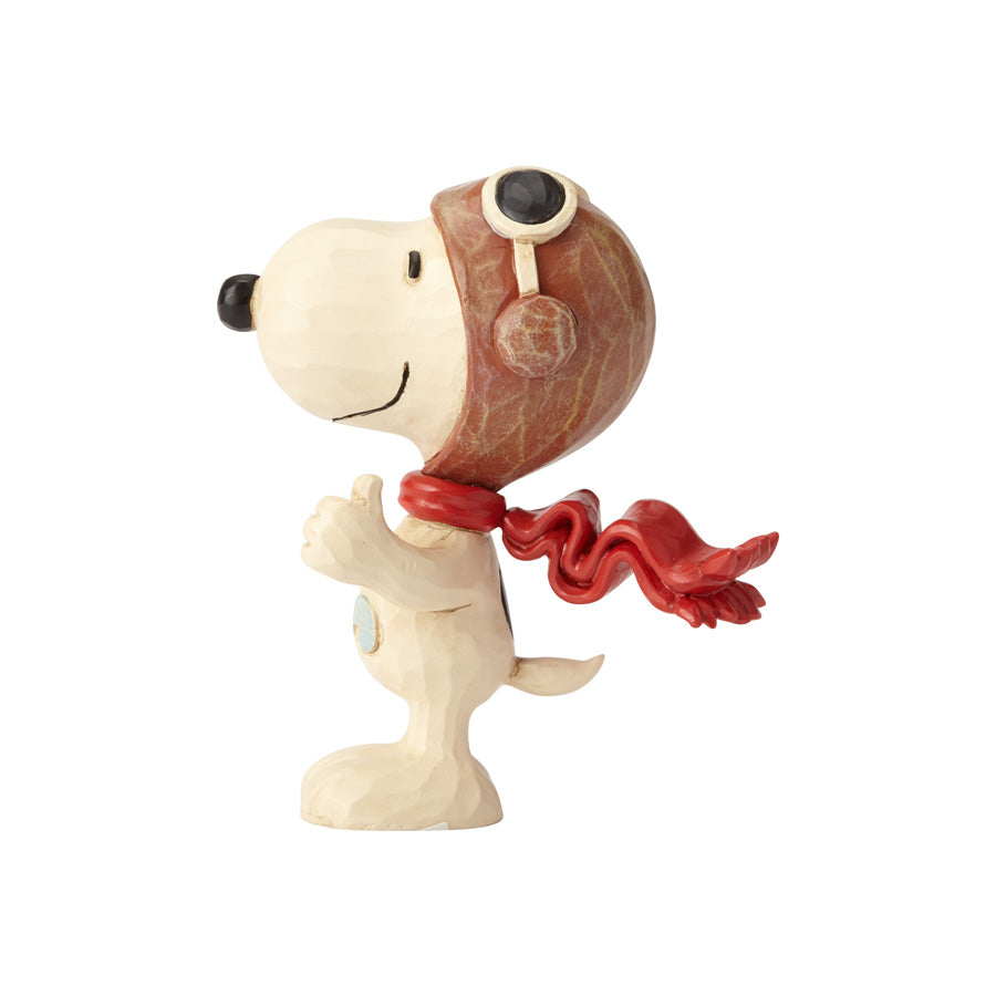 Miniature Flying Ace Snoopy Peanuts by Jim Shore Enesco, 6001295