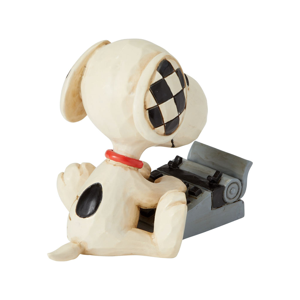 Snoopy Typing Mini