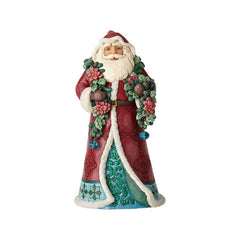 Wonderland Santa with Garland