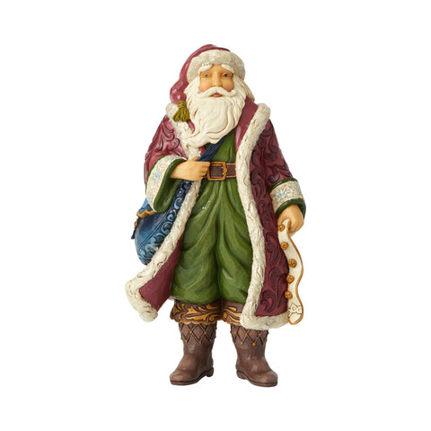 Victorian Santa with Satchel