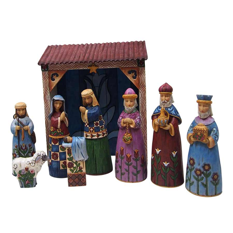 Folklore Nativity Set