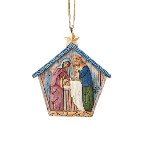 Folklore Nativity Ornament