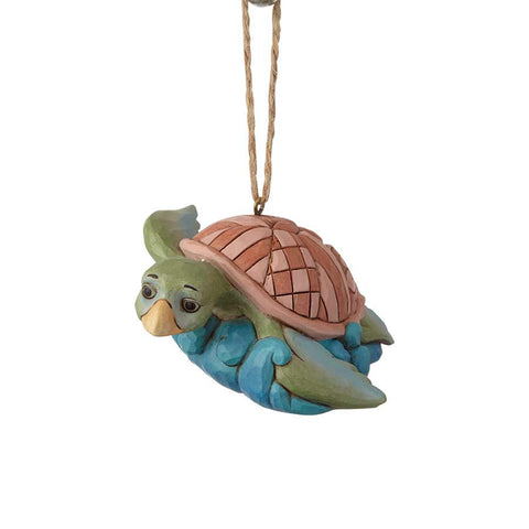 Coastal Sea Turtle Ornament