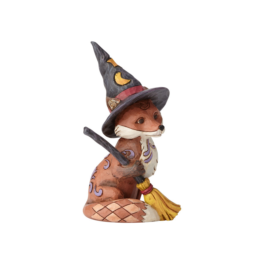 Mini Fox in Witch's Hat