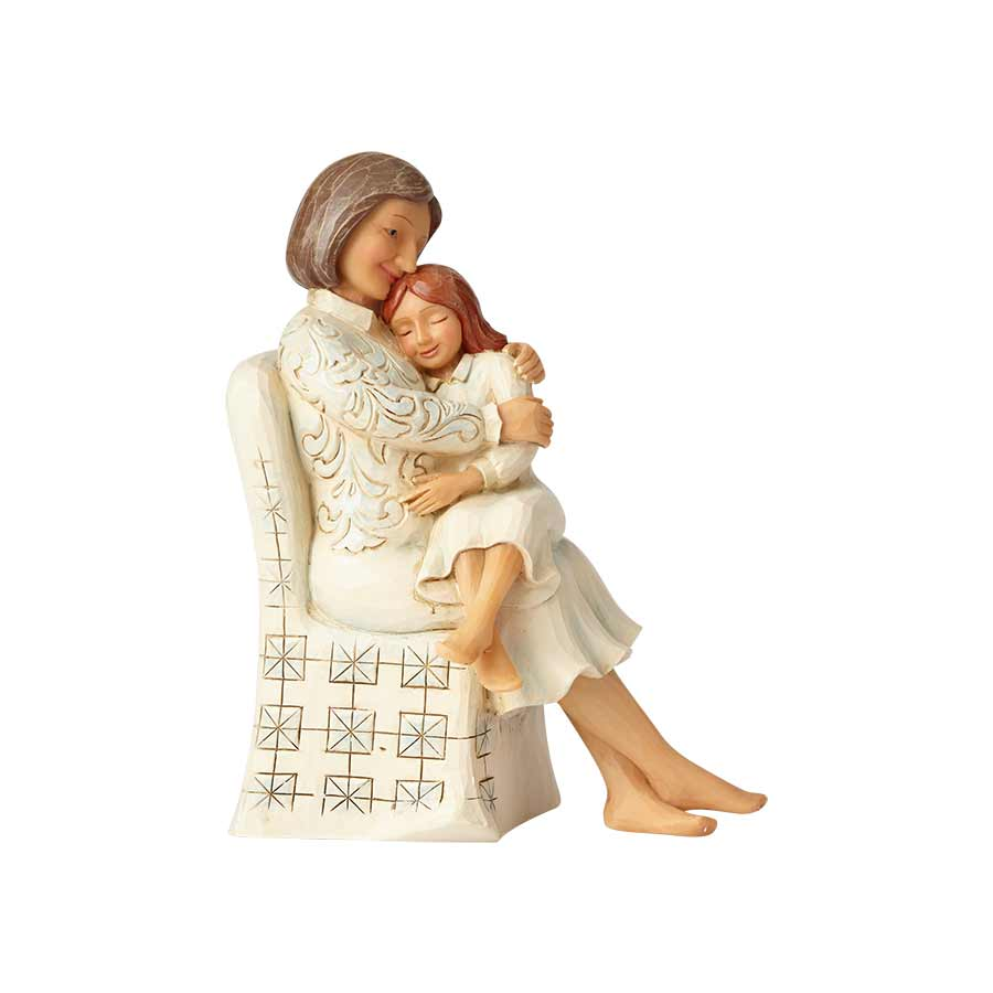 Woman Sitting With Child