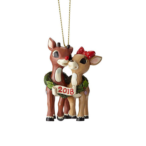 Rudolph with Clarice, Dated