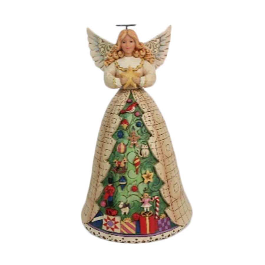 Angel with Christmas TreeSkirt