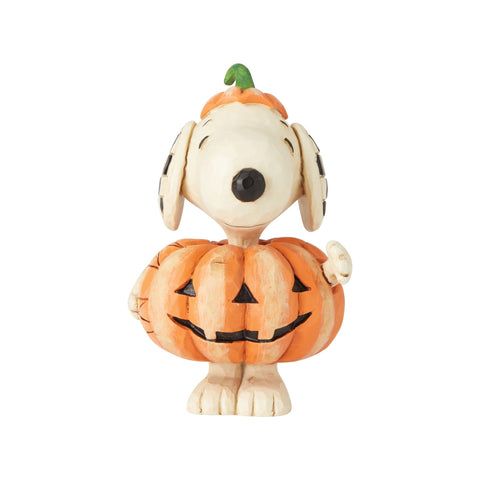 Snoopy Pumpkin Mini Fig