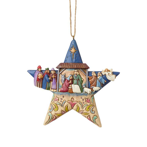 f3e4057d4672b Nativity Star Ornament