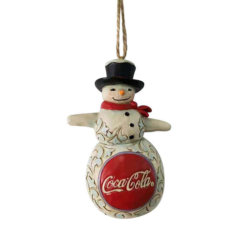 Coca-Cola Snowman Ornament