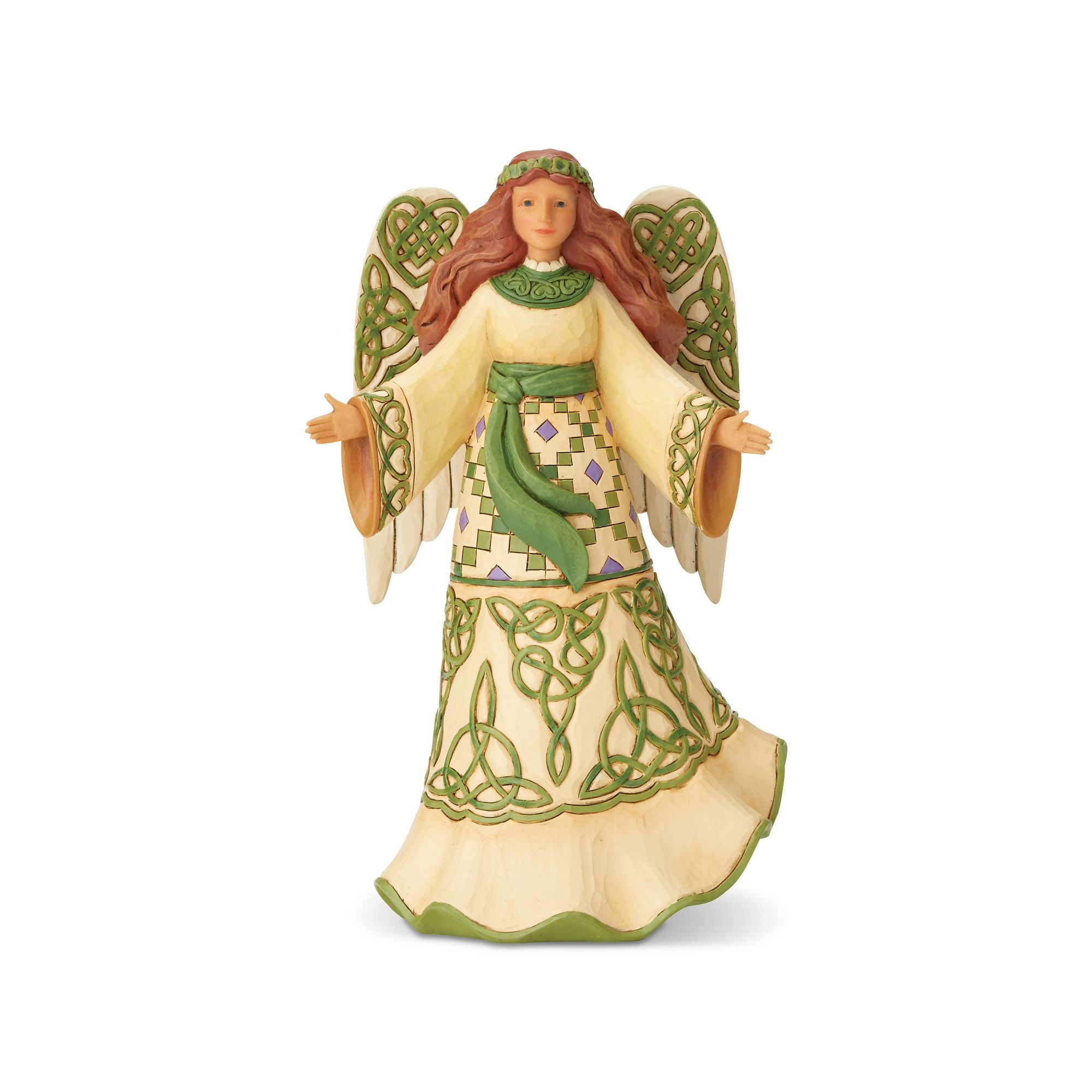 Irish Angel with Celtic Dress