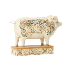 White Farmhouse Pig