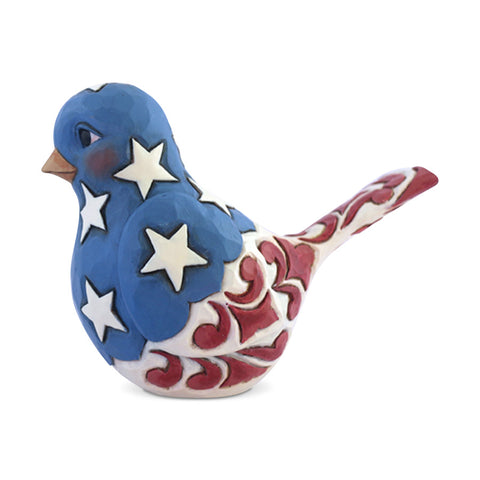 Red, White & Blue Bird