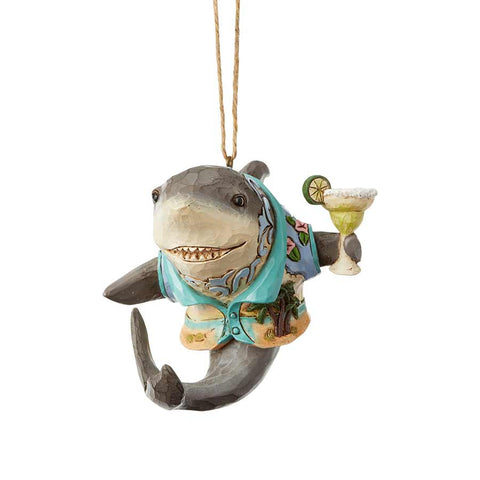 Shark With Margarita Ornament