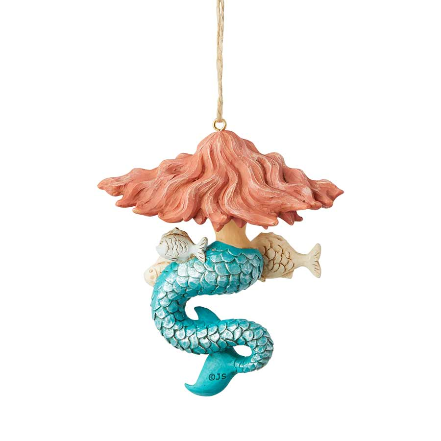 Coastal Mermaid Ornament