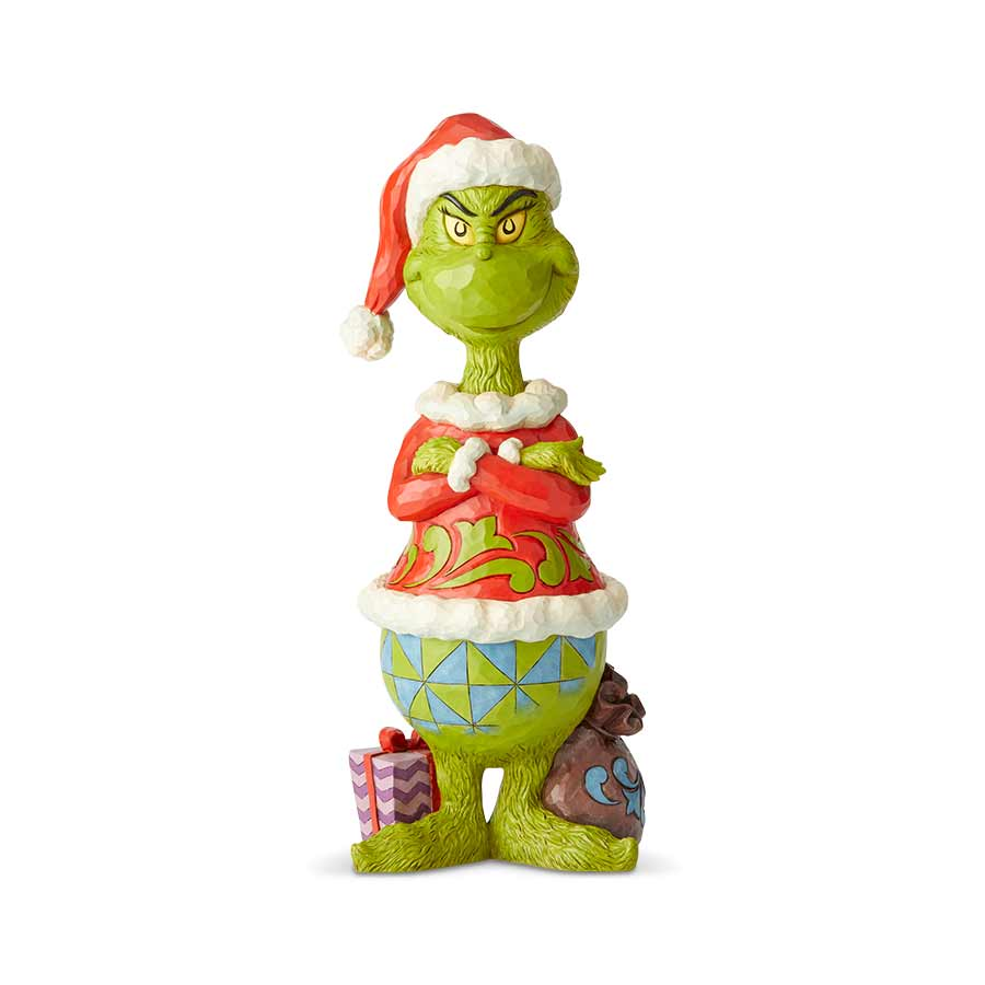 Grinch Statue With Arms Folded