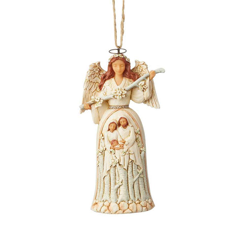 Woodland Nativity Angel Orn