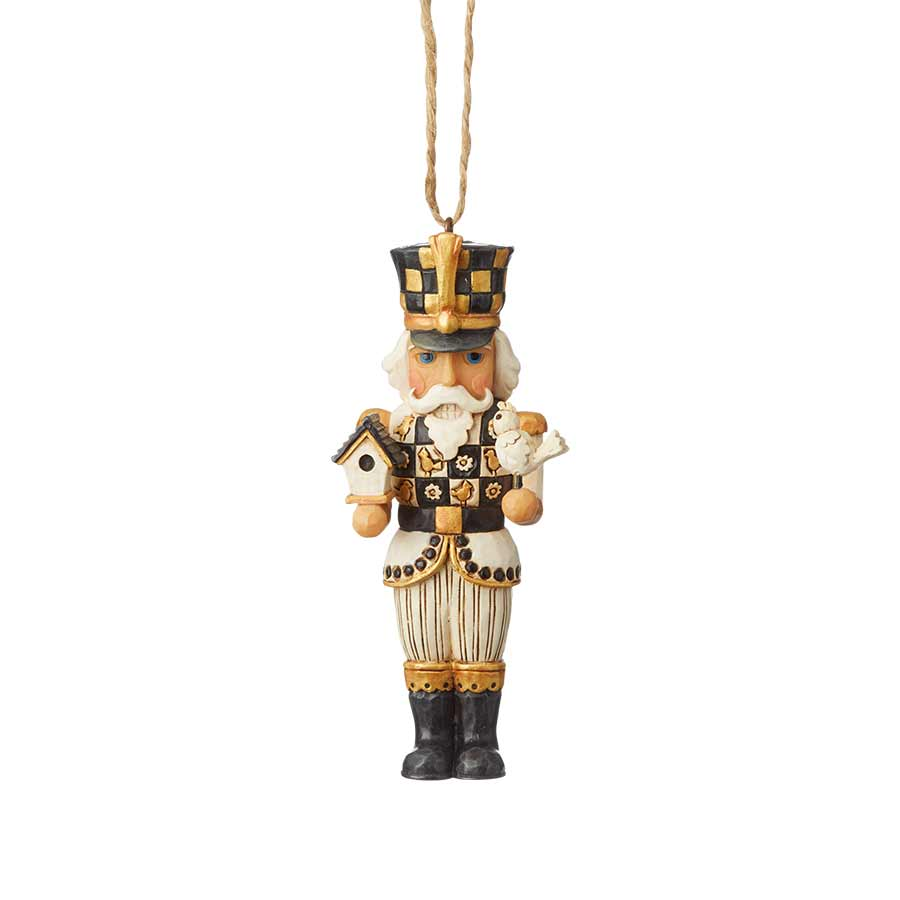 Black & Gold Nutcracker Orn