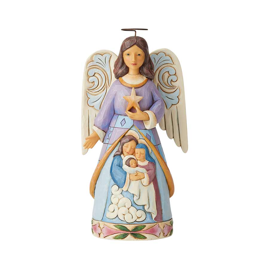 Angel W/Holy Family