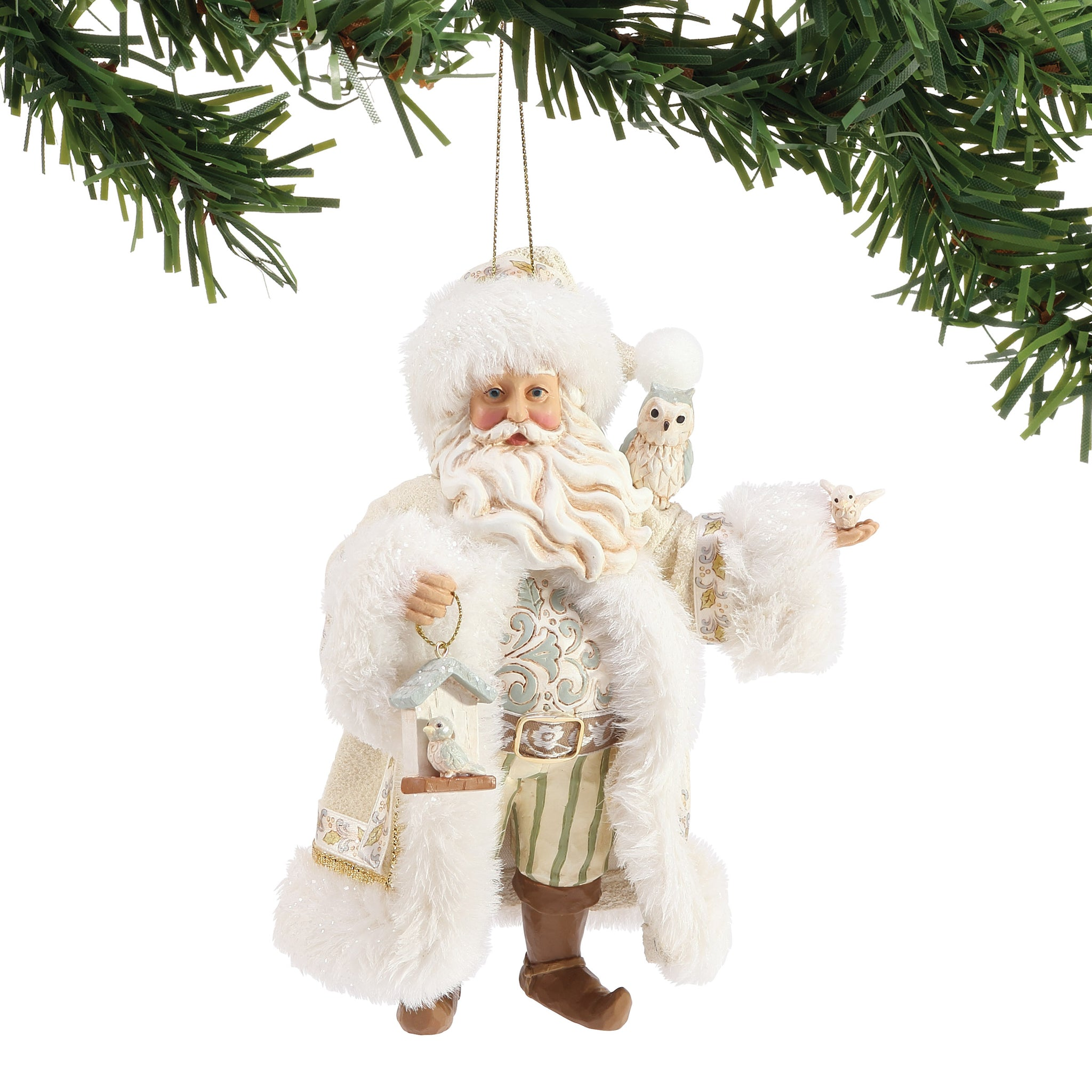 White Woodland Limited Edition 2019 Ornament
