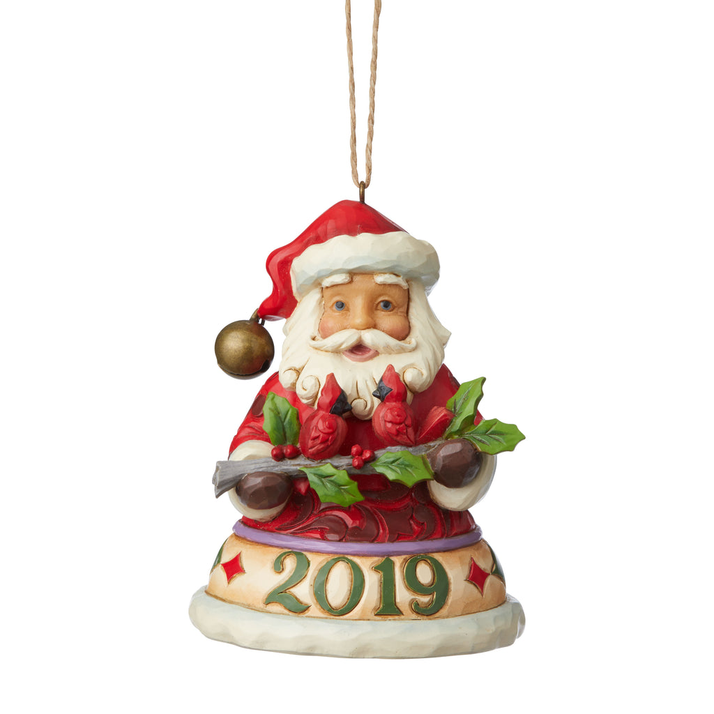 Santa/Cardinals 2019 Ornament