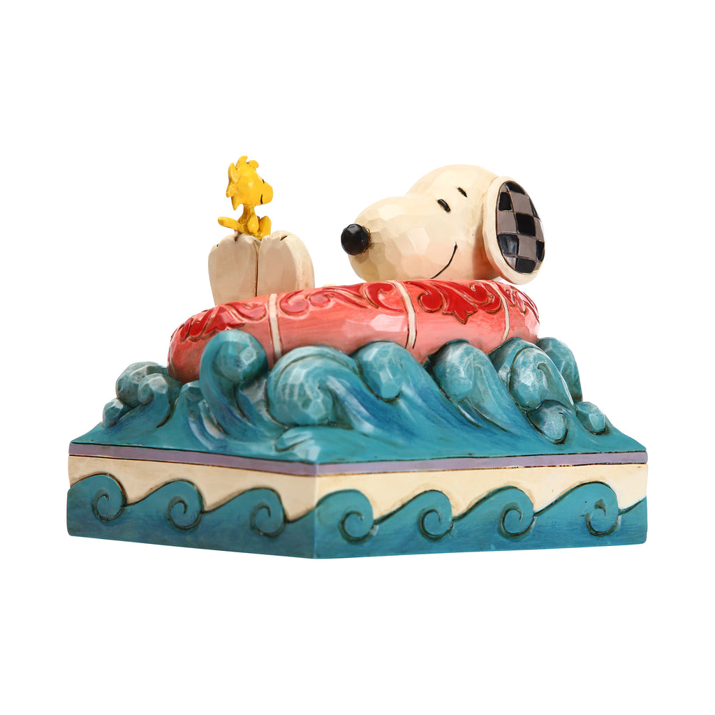Snoopy/Woodstock in Floatie