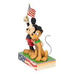 Mickey and Pluto Patriotic