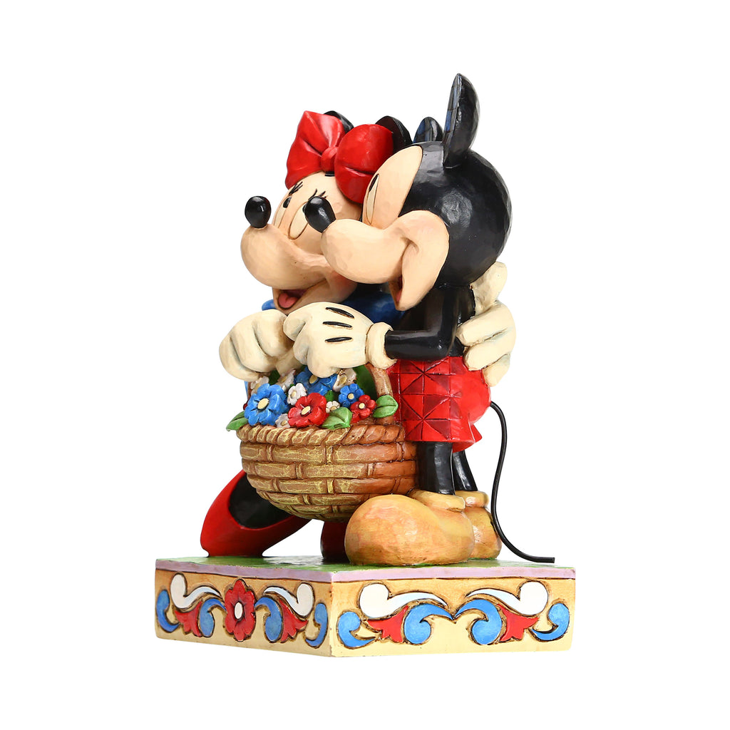 Mickey/Minnie w/Flower Basket