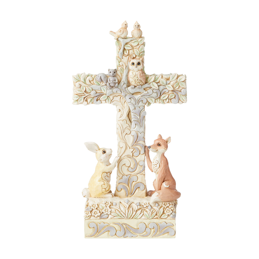 Woodland Cross with Animals