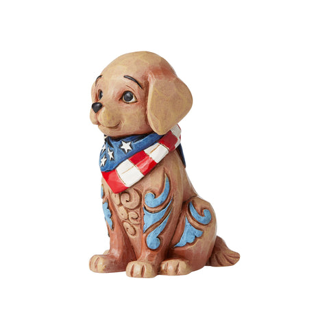 Mini Patriotic Puppy