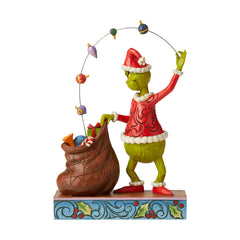 Grinch Juggling Gifts Into Bag