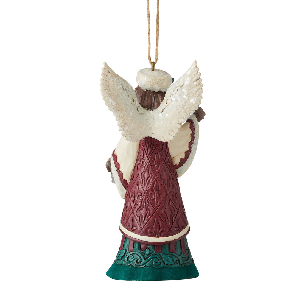 Angel with Hand Bell Ornament
