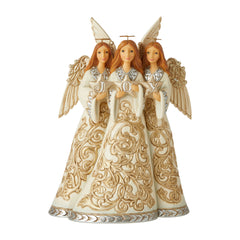 Holiday Lustre Trio Of Angels