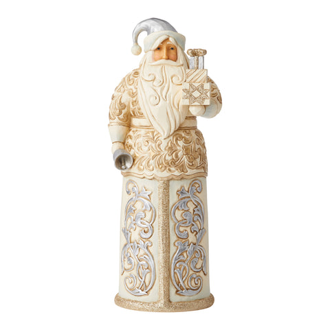 Holiday Lustre Santa with Bell