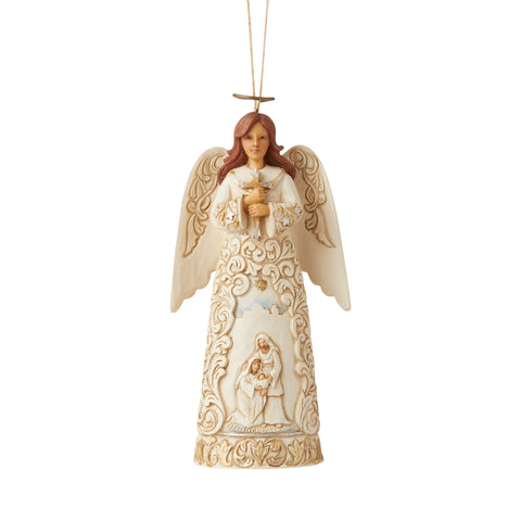 Holiday Lustre Angel Ornament