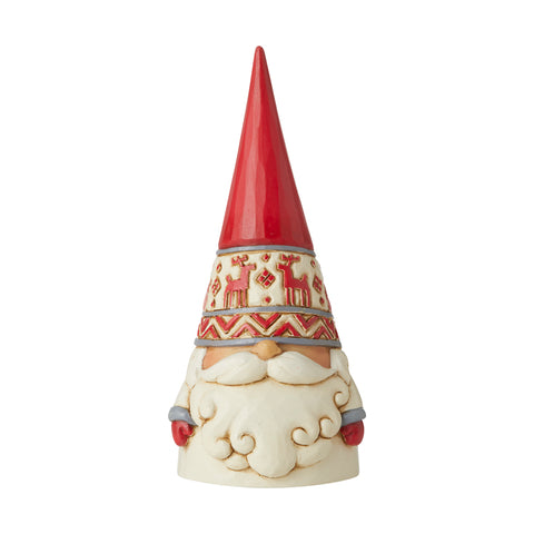 Red Reindeer Hat Gnome