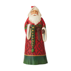 Santa With Jingle Bells Fig