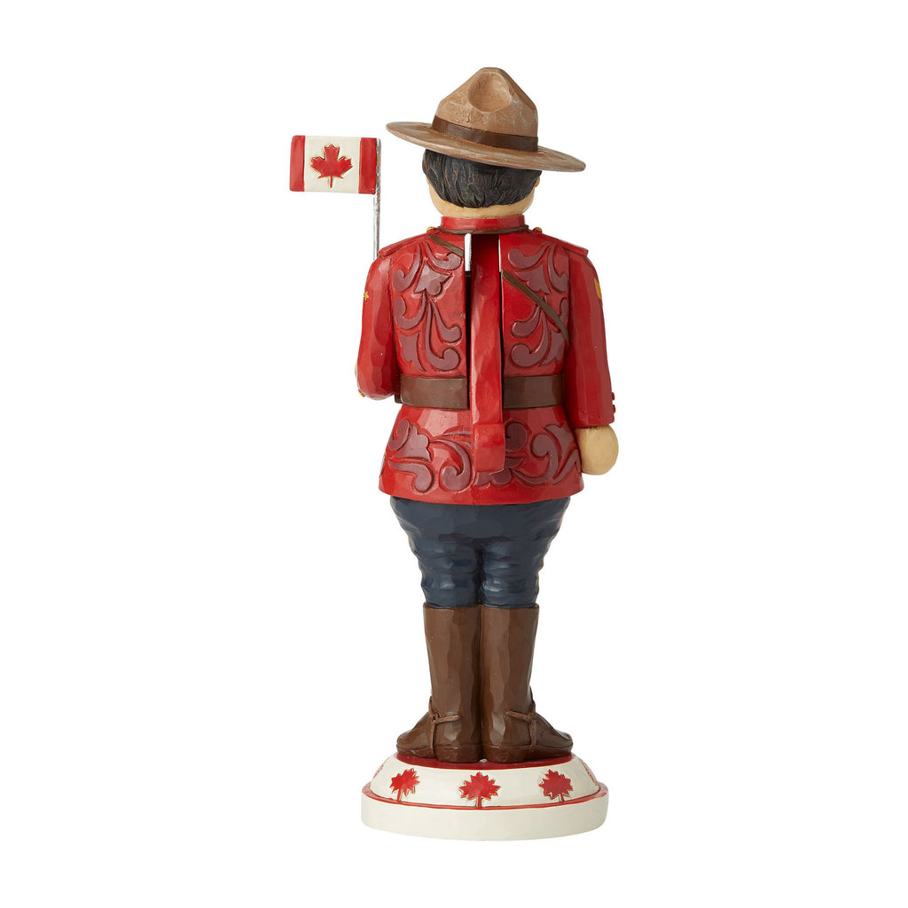 Canadian Mountie Nutcracker