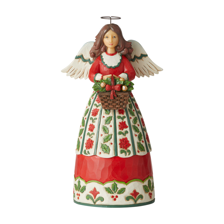 Christmas Floral Angel