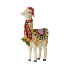 Pint Sized Llama with Scarf
