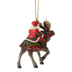 JS Santa Riding Moose HO