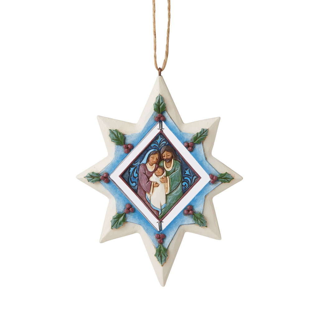 Rotatable Star Promo Ornament