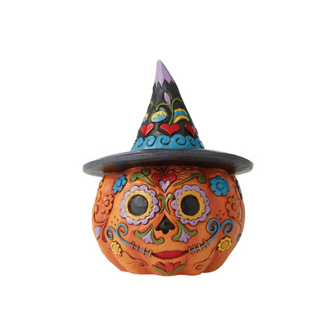 Day Of The Dead Pumpkin Mini
