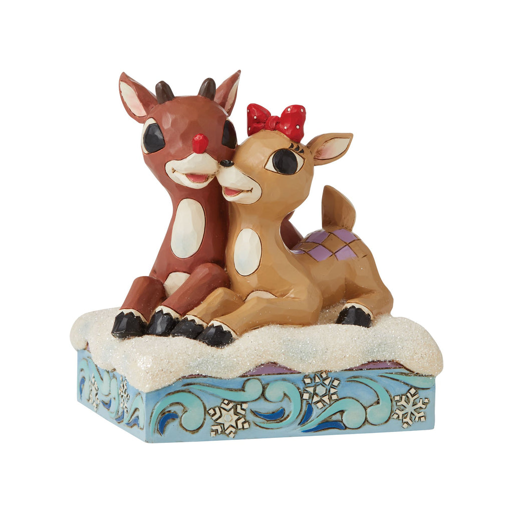 Rudolph & Clarice Laying Down