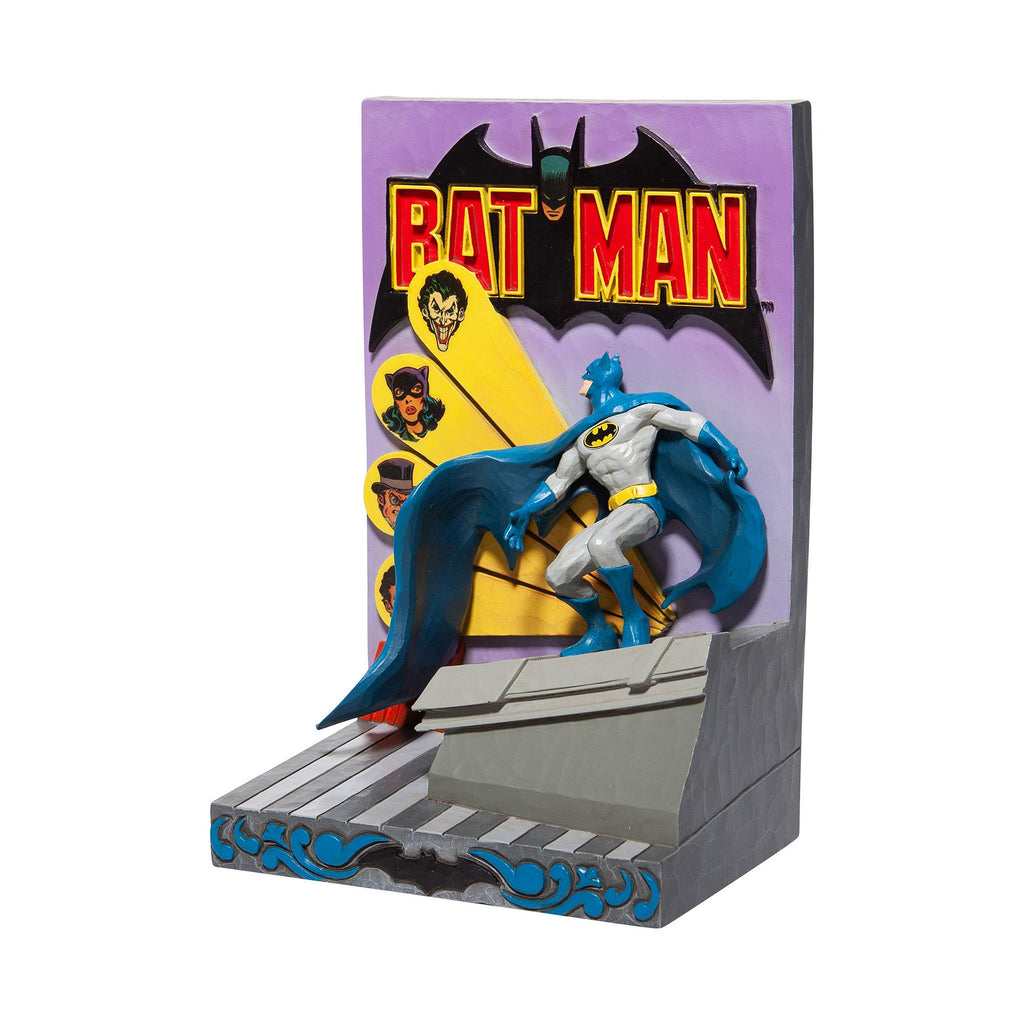 Batman 3D Comic Book Cover