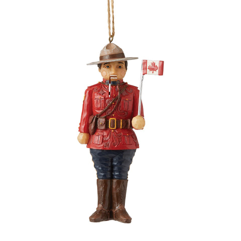 Canadian Mountie NutcrackerOrn