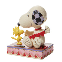 Snoopy with Hearts Garland