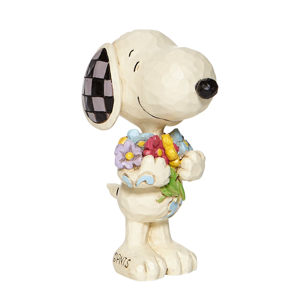 Mini Snoopy with Flowers